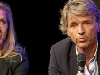 Guy Lagache et Sibyle Veil, dirigeants de Radio France