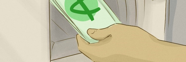 Banque en ligne illustration