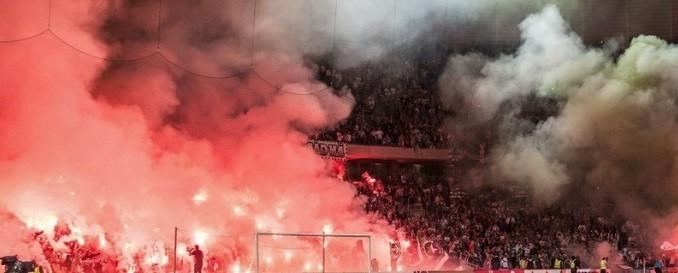 Les supporters du PSG lors d'un match