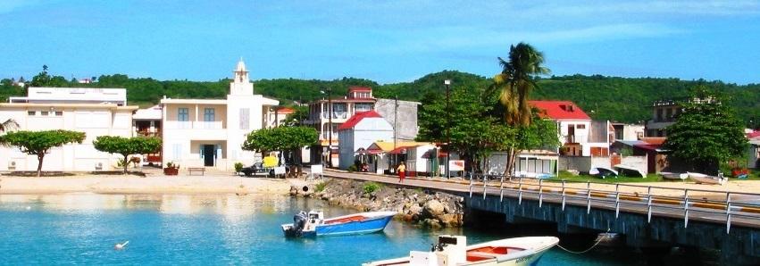 Une partie de l'Ile de Marie-Galante