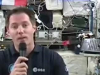 Thomas Pesquet parle à ses élèves depuis l'espace