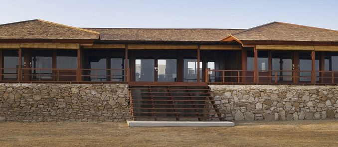 Une maison en bois livrée en kit