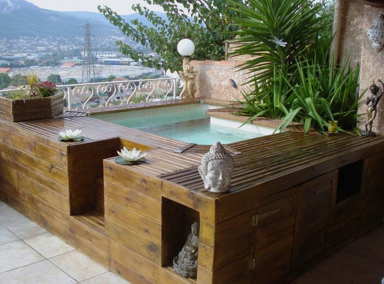 Mini piscine hors-sol
