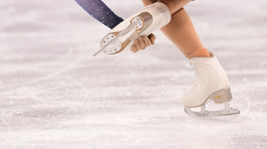 Pieds de patineuse