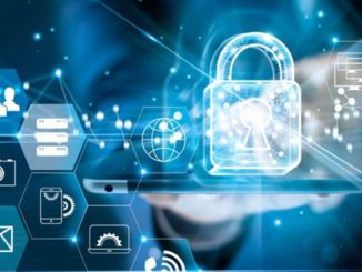 Un cadenas protégeant des données