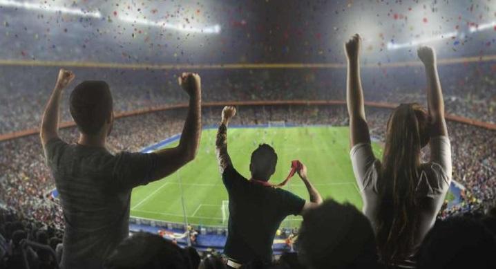 Stade de foot supporteurs