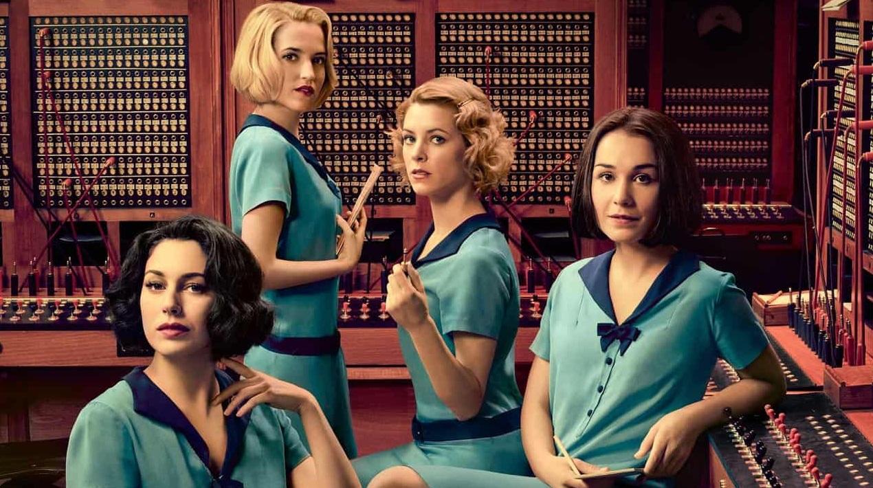 les demoiselles du téléphone série TV espagnole
